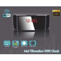 1080P WiFi Clock DVR Camera